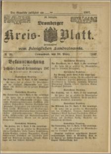 Bromberger Kreis-Blatt, 1907, nr 26