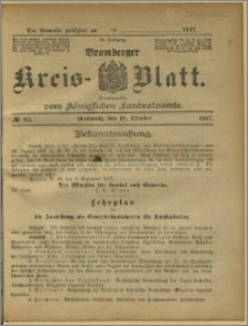Bromberger Kreis-Blatt, 1907, nr 83