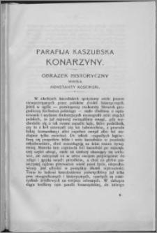 Parafija Kaszubska Konarzyny : obrazek historyczny