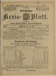 Bromberger Kreis-Blatt, 1908, nr 39