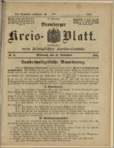 Bromberger Kreis-Blatt, 1908, nr 91