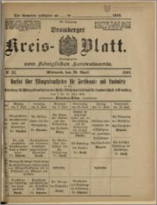 Bromberger Kreis-Blatt, 1909, nr 32