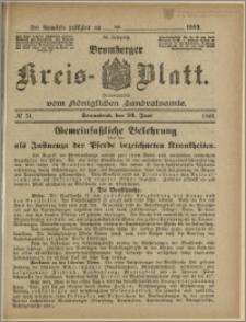 Bromberger Kreis-Blatt, 1909, nr 51