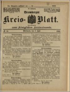 Bromberger Kreis-Blatt, 1909, nr 54
