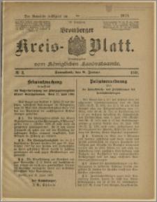Bromberger Kreis-Blatt, 1910, nr 3