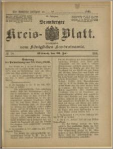 Bromberger Kreis-Blatt, 1910, nr 58