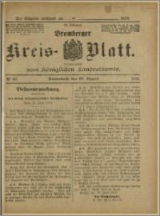 Bromberger Kreis-Blatt, 1910, nr 65