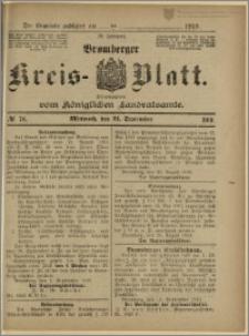 Bromberger Kreis-Blatt, 1910, nr 76