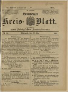 Bromberger Kreis-Blatt, 1911, nr 39