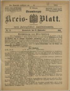 Bromberger Kreis-Blatt, 1911, nr 72