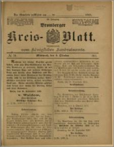 Bromberger Kreis-Blatt, 1911, nr 79