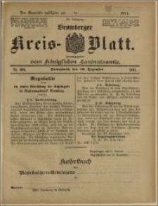 Bromberger Kreis-Blatt, 1911, nr 100