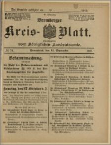 Bromberger Kreis-Blatt, 1912, nr 74
