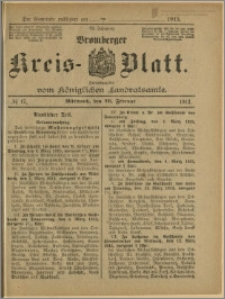 Bromberger Kreis-Blatt, 1913, nr 17