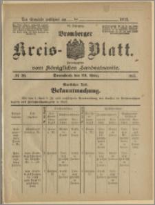 Bromberger Kreis-Blatt, 1913, nr 26
