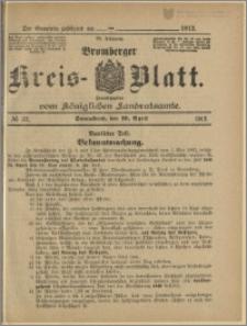 Bromberger Kreis-Blatt, 1913, nr 32
