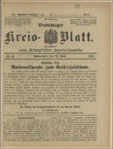Bromberger Kreis-Blatt, 1913, nr 50