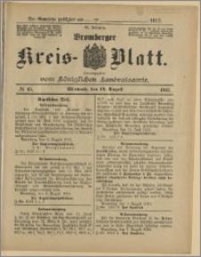 Bromberger Kreis-Blatt, 1913, nr 65
