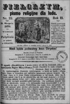 Pielgrzym, pismo religijne dla ludu 1870 nr 33