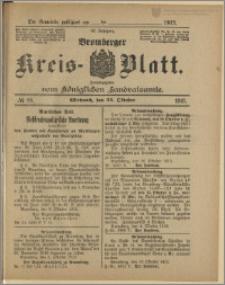 Bromberger Kreis-Blatt, 1913, nr 85