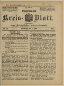 Bromberger Kreis-Blatt, 1914, nr 52
