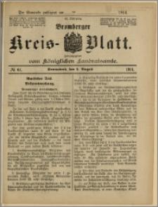 Bromberger Kreis-Blatt, 1914, nr 61