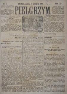 Pielgrzym, pismo religijne dla ludu 1881 nr 1