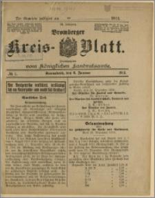 Bromberger Kreis-Blatt, 1915, nr 1