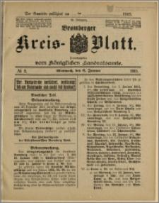 Bromberger Kreis-Blatt, 1915, nr 2