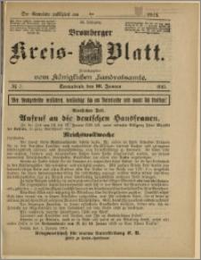 Bromberger Kreis-Blatt, 1915, nr 5