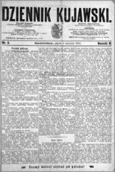 Dziennik Kujawski 1894.01.05 R.2 nr 3