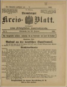 Bromberger Kreis-Blatt, 1915, nr 6