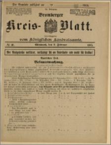Bromberger Kreis-Blatt, 1915, nr 10