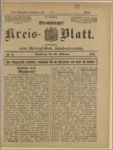 Bromberger Kreis-Blatt, 1915, nr 12