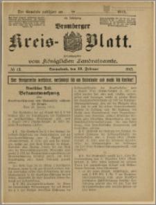 Bromberger Kreis-Blatt, 1915, nr 13