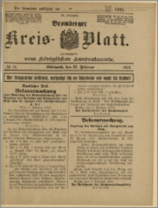 Bromberger Kreis-Blatt, 1915, nr 14