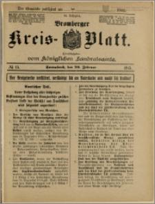 Bromberger Kreis-Blatt, 1915, nr 15