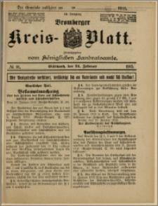Bromberger Kreis-Blatt, 1915, nr 16