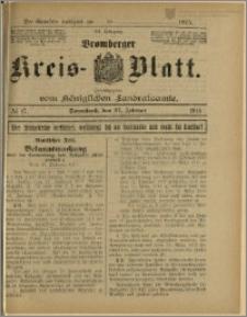 Bromberger Kreis-Blatt, 1915, nr 17