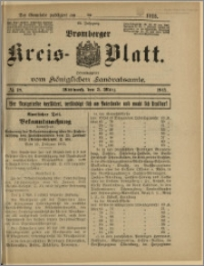 Bromberger Kreis-Blatt, 1915, nr 18