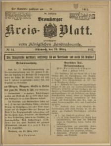 Bromberger Kreis-Blatt, 1915, nr 24