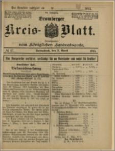 Bromberger Kreis-Blatt, 1915, nr 27