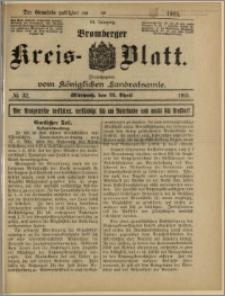 Bromberger Kreis-Blatt, 1915, nr 32