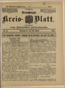 Bromberger Kreis-Blatt, 1915, nr 33