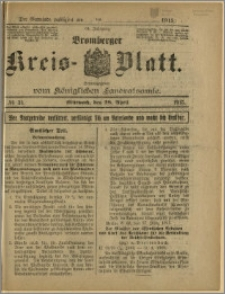Bromberger Kreis-Blatt, 1915, nr 34