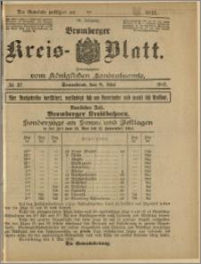 Bromberger Kreis-Blatt, 1915, nr 37