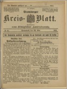 Bromberger Kreis-Blatt, 1915, nr 41