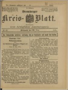 Bromberger Kreis-Blatt, 1915, nr 42