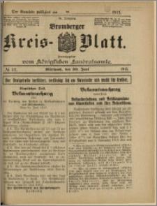 Bromberger Kreis-Blatt, 1915, nr 52
