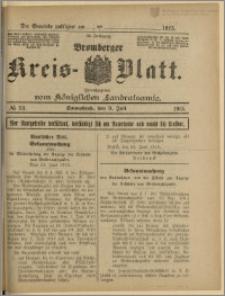 Bromberger Kreis-Blatt, 1915, nr 53